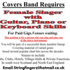 FEMALE VOCALS/GUITAR PLAYER NEEDED