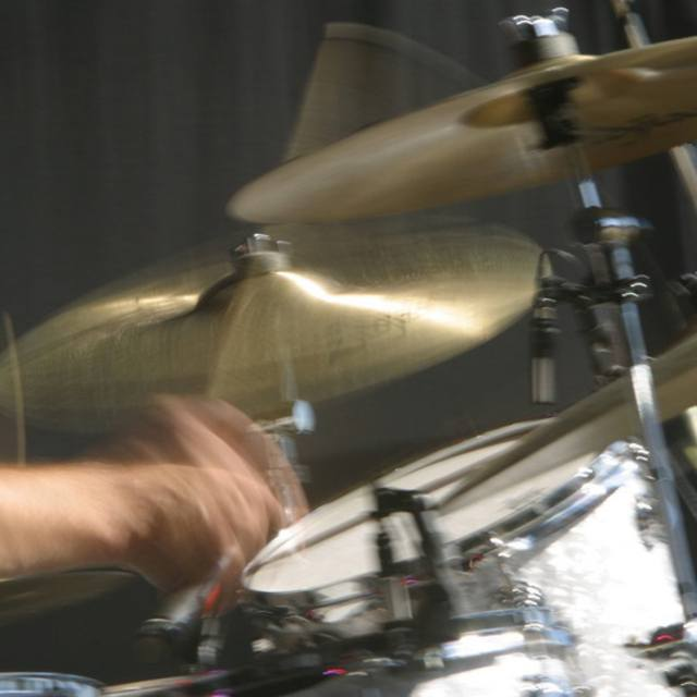 Enthusiastic Drummer
