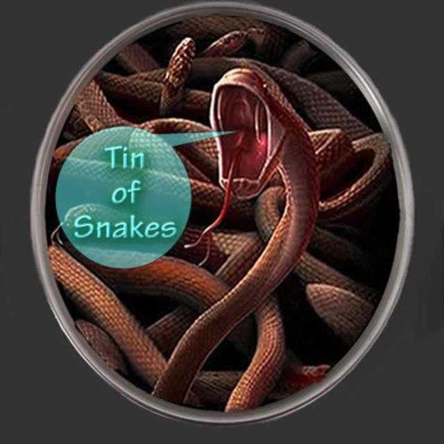Phil Platt's Tin Of Snakes