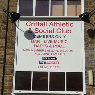 Crittall Athletic social club