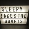 Sleepyjakeandtheduvets