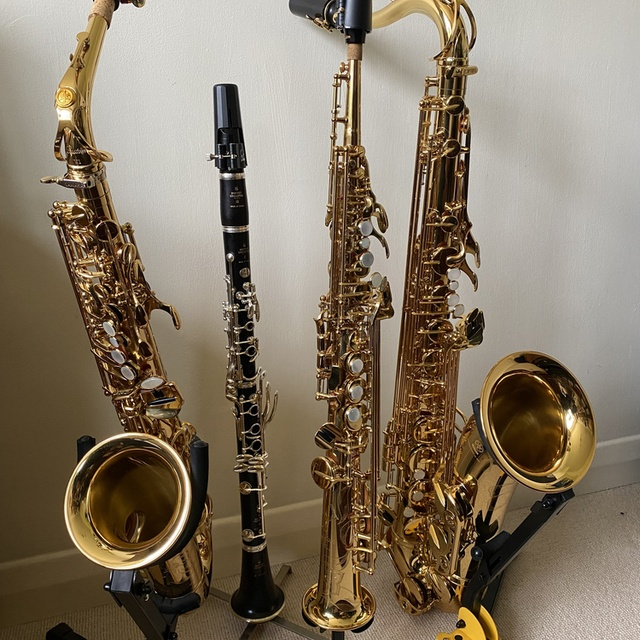 Helen G Sax and Clarinet