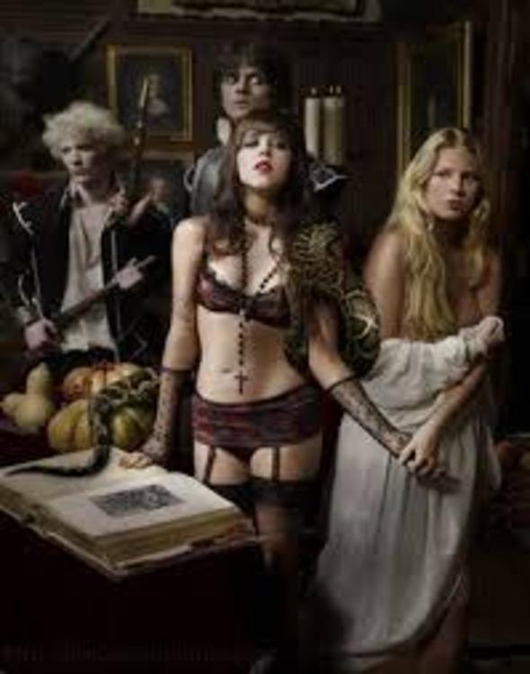 Halloween sex fantasy having sex with skeleton - 4 8